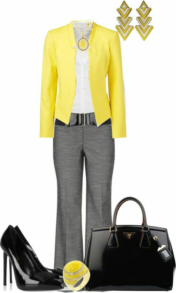 Желтые аксессуары в гардеробе сочетание стиля