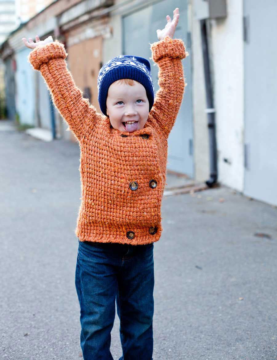 Детская кофта фото на мальчике