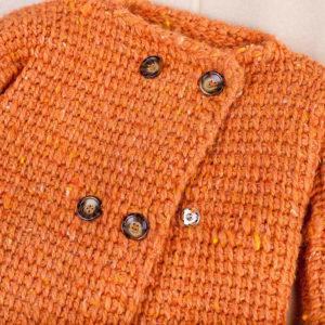 Детская кофта оранжевая для мальчика или девочки