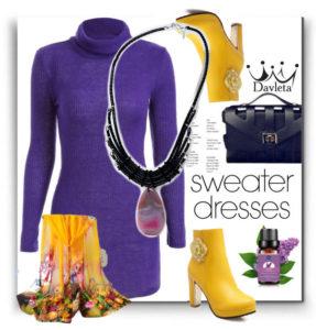 Сочетание цветов платье