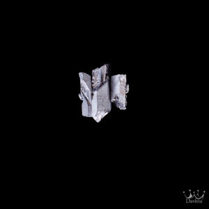 Фото Минималистичная брошь с 3мя камнями Серебристого Пирита