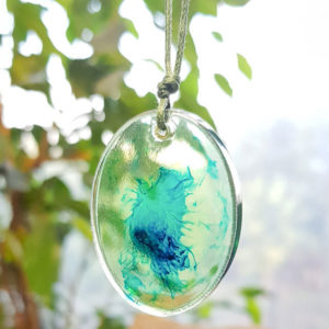 Купить украшение цвета моря, компания Давлета, дизайнер Анастасия Давлетшина